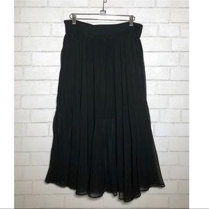 Aqua by Bloomingdales Pleated Midi Skirt